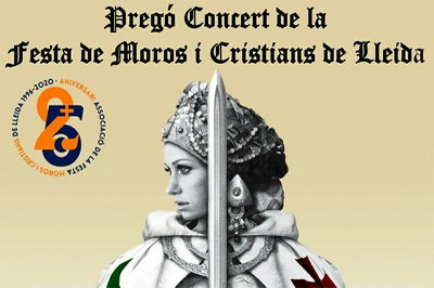Celebració pregó Festa de Moros i Cristians de Lleida