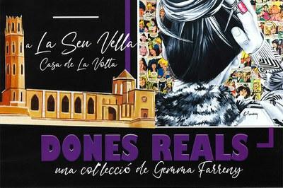 """Exposició """"Dones Reals"""""""