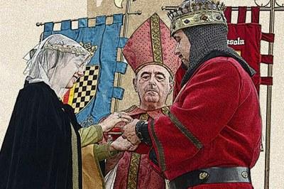 Recreació Noces Ramon Berenguer IV i Peronella d'Aragó