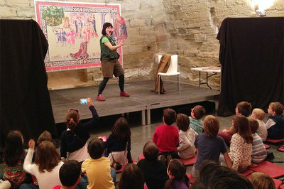 Imatge del event TITELLES DEL TAPÍS DE MESTRA (Fira de titelles de Lleida)