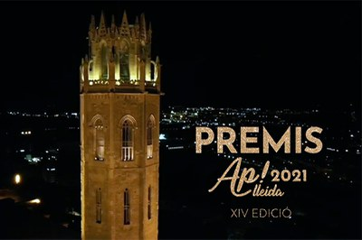 Imatge del event XIV EDICIÓ PREMIS AP! LLEIDA 2021