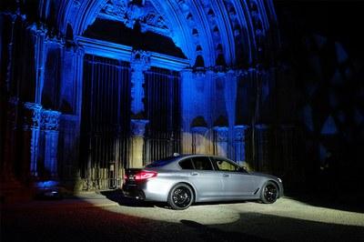 Acte promocional de la marca BMW al Turó