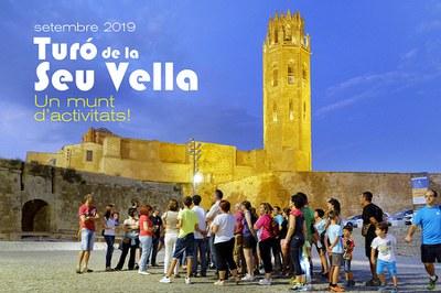 Imatge de la notícia ACTIVITATS AL TURÓ DE LA SEU VELLA / setembre 2019