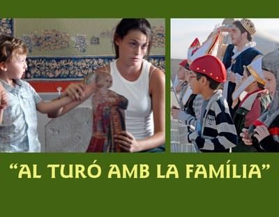 """""""AL TURÓ AMB LA FAMÍLIA"""" Activitats familiars de primavera 2013"""