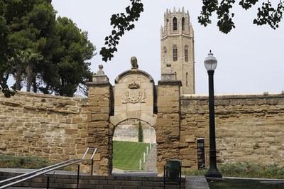 25/09/2016 Arribada volta ciclista a Lleida_restricció trànsit rodat_Porta del Lleó_de 11.00 a 14.00 h.
