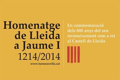 Imatge de la notícia HOMENATGE DE LLEIDA A JAUME I 1214-2014