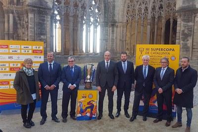 Presentació de la III Supercopa de Catalunya a la Seu Vella