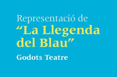 """Representació de """"La Llegenda del Blau"""""""