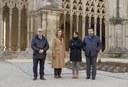 Una delegació del Consulat General del Brasil visita la Seu Vella