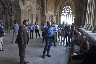 VISITA DELS MEDIEVALISTES DEL 6th INTERNATIONAL MEDIEVAL MEETING