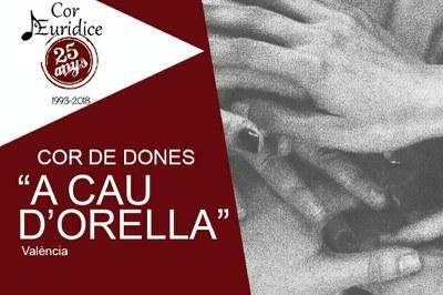 Concierto 25 aniversario - Cor Euridice -