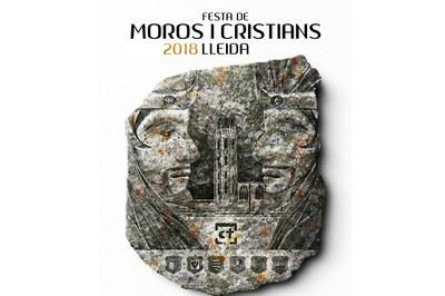 Relevo de capitanías de la Fiesta de Moros y Cristianos de Lleida