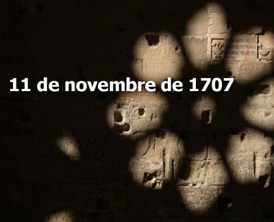 ACTO CONMEMORATIVO 1707
