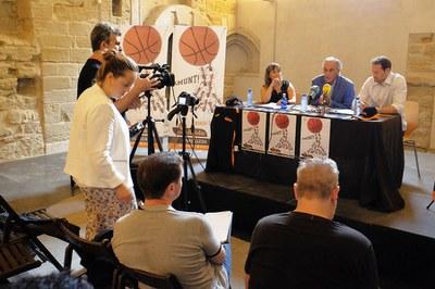 Presentación de FORÇA LLEIDA BASQUET de la nueva campaña de abonos