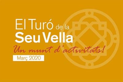 Agenda de actividades al Turó de la Seu Vella_Primavera 2020