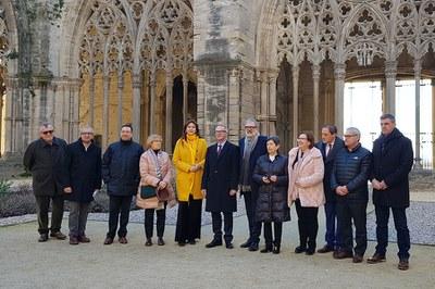 Visita Institucional al Turó de la Seu Vella